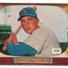 1955 Bowman baseball card #251 (B) Stan Jok EX