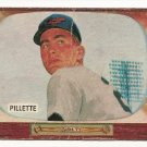 1955 Bowman baseball card #244 (C) Duane Pillette - fair
