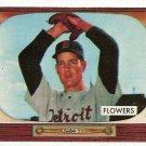 1955 Bowman baseball card #254 (D) Bennett Flowers EX