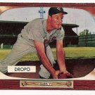 1955 Bowman baseball card #285 Walt Dropo EX