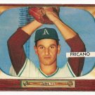 1955 Bowman baseball card #316 (B) Marion Fricano VG/EX