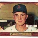 1955 Bowman baseball card #320 (B) George Susce EX