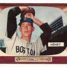 1955 Bowman baseball card #264 (B) Bill Henry VG+