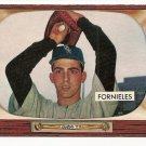 1955 Bowman baseball card #266 (B) Mike Fornieles EX