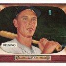 1955 Bowman baseball card #274 Jim Delsing EX/NM