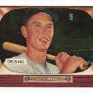 1955 Bowman baseball card #274 (B) Jim Delsing EX