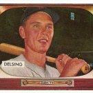 1955 Bowman baseball card #274 (C) Jim Delsing EX