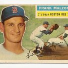 1956 Topps baseball card #304 Frank Malzone G/VG Boston Red Sox