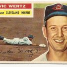 1956 Topps baseball card #300 Vic Wertz NM Cleveland Indians