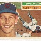 1956 Topps baseball card #335 Don Hoak VG Chicago Cubs