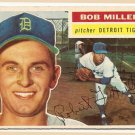1956 Topps baseball card #263 Bob Miller VG Detroit Tigers