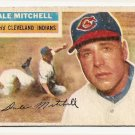 1956 Topps baseball card #268 Dale Mitchell good Cleveland Indians