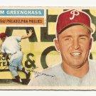 1956 Topps baseball card #275 Jim Greengrass Vg Philadelphia Phillies