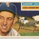 1956 Topps baseball card #243 Sherm Lollar VG/EX Chicago White Sox