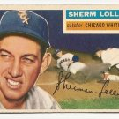 1956 Topps baseball card #243 (B) Sherm Lollar VG Chicago White Sox