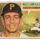 1956 Topps baseball card #232 Toby Atwell good Pittsburgh Pirates
