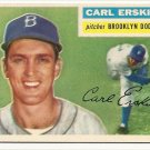 1956 Topps baseball card #233 (D) Carl Erskine NM/M Brooklyn Dodgers