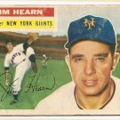 1956 Topps baseball card #202 Jim Hearn good- New York Giants