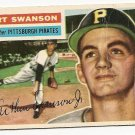 1956 Topps baseball card #204 Art Swanson good Pittsburgh Pirates
