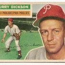 1956 Topps baseball card #211 Murry Dickson G/Vg Philadelphia Phillies
