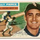 1956 Topps baseball card #160 Billy Pierce G/VG (small paper scuff on back) Chicago White Sox