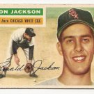 1956 Topps baseball card #186 Ron Jackson VG Chicago White Sox