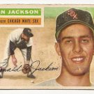 1956 Topps baseball card #186 (B) Ron Jackson poor (glue on back) Chicago White Sox