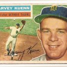 1956 Topps baseball card #155 Harvey Kuenn good (crayon marks on back) detroit Tigers