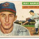 1956 Topps baseball card #133 Ray Narleski good Cleveland Indians