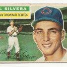 1956 Topps baseball card #137 Al Silvera F/G Cincinnati Reds