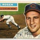 1956 Topps baseball card #35 Al Rosen Nm Cleveland Indians