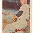 1957 Topps baseball card #297 John Crimian VG