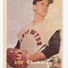 1957 Topps baseball card #261 (C) Bob Chakales VG