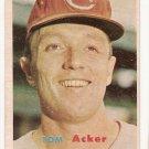 1957 Topps baseball card #219 Tom Acker VG/EX