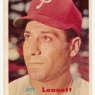 1957 Topps baseball card #241 (B) Joe Lonnett VG