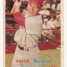 1957 Topps baseball card #231 (B) Solly Hemus G/VG