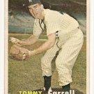 1957 Topps baseball card #164 (B) Tommy Carroll G/VG