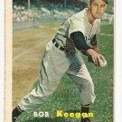 1957 Topps baseball card #99 Bob Keegan VG
