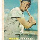 1957 Topps baseball card #92 Mickey Vernon F/G