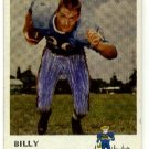1961 Fleer football card #171 Billy Cannon good (ink marks on front) Houston oilers