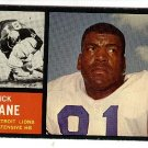 1962 Topps football card #60 Dick Lane EX Detroit Lions