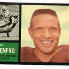 1962 Topps football card #27 Ray Renfro EX/NM Cleveland browns