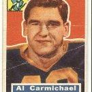 1956 Topps football card #115 Al Carmichael F/G Green Bay packers
