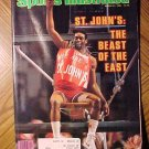 Sports Illustrated magazine March 21, 1983 Basketball, St. John's The beast of the east