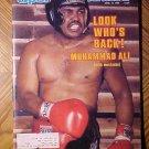 Sports Illustrated magazine April 14, 1980 Boxing - Muhammad Ali returns!