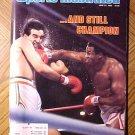 Sports Illustrated magazine June 21, 1982 Boxing, Larry Holmes vs Gerry Cooney