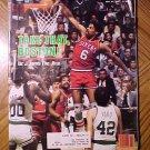 Sports Illustrated magazine May 31, 1982, NBA basketball, Dr. J
