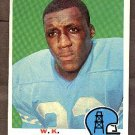 1969 Topps football card #152 W.K. Hicks NM- Houston Oilers