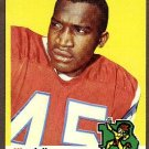 1969 Topps football card #58 Wendall Hayes EX/Nm Kansas City Chiefs