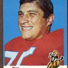 1969 Topps football card #49 Rex Mirich NM Denver broncos